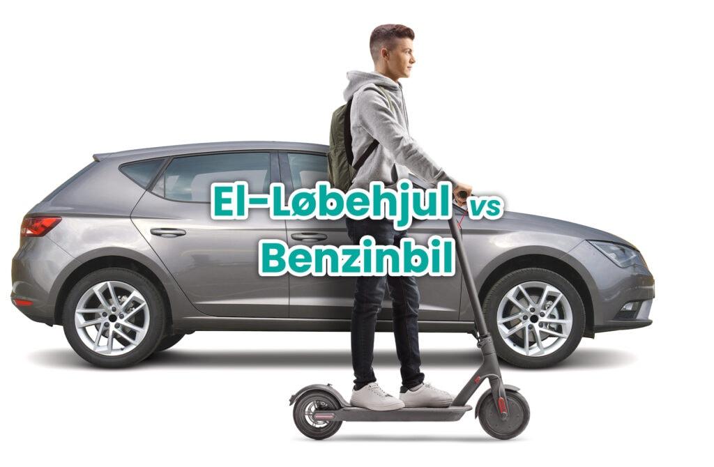 el-løbehjul vs benzinbil